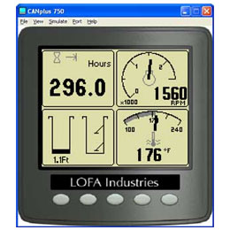 LOFA CANplus configuration software kit