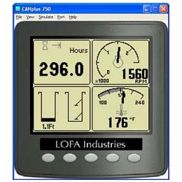 LOFA CANplus configuration software kit