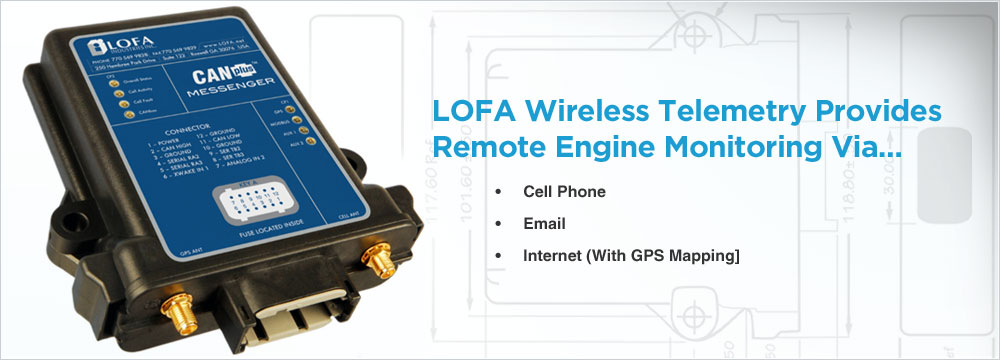 LOFA Wireless telemetry